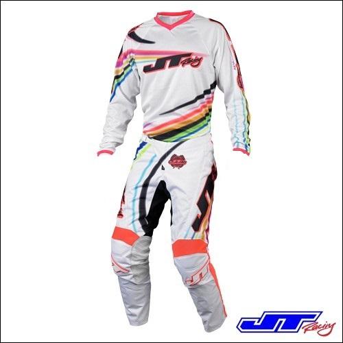 JT Racing USA Youth Flex Flow White