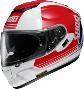 SHOEI CASCO INTEGRALE GT-AIR DECADE TC-1 WHITE RED