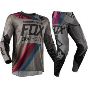 FOX 360 COMPLETO MX 2018 DRAFTR CHARCOAL