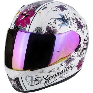 SCORPION EXO-390 CHICA PEARL WHITE-BLACK