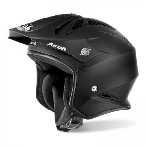 AIROH CASCO TRIAL TRR S BLACK MATT