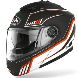 AIROH CASCO MODULARE PHANTOM S ORANGE MATT