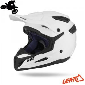 CASCO CROSS LEATT HELMET GPX 5.5 COMPOSITE WHITE