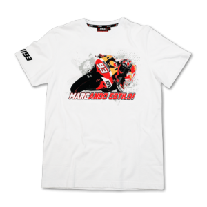 T-SHIRT MARC MARQUEZ 93 MOTO WHITE M TS 1011 06
