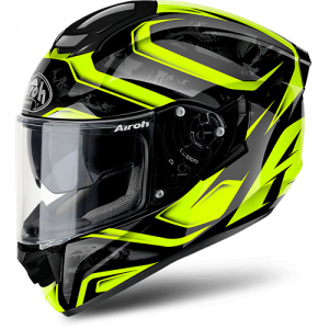 AIROH CASCO INTEGRALE ST 501 DUDE BLACK-YELLOW GLOSS