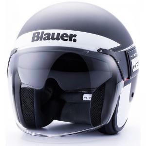 BLAUER HELMETS HT POD STRIPES BLACK/WHITE/RED