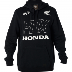 FELPA FOX HONDA PULLOVER FLEECE BLACK