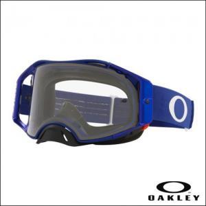 OAKLEY AIRBRAKE MX Moto Blue - Lens Clear