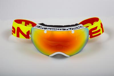 MASCHERE SCI ETHEN 03 WHITE/YELLOW FLUO/ RED