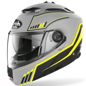 AIROH CASCO MODULARE PHANTOM S YELLOW MATT