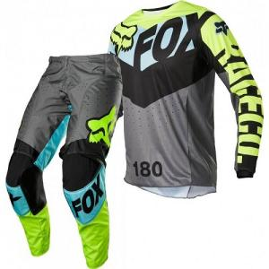 FOX 180 TRICE  2022 COMPLETO CROSS TEAL