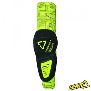 LEATT ELBOW GUARD 3DF HYBRID LIME