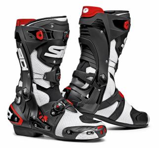 SIDI STIVALI RACING REX AIR BIANCO/NERO