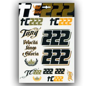 STICKERS GRANDI TONY CAIROLI