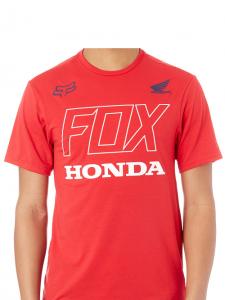 T-SHIRT FOX HONDA TECH TEE RED
