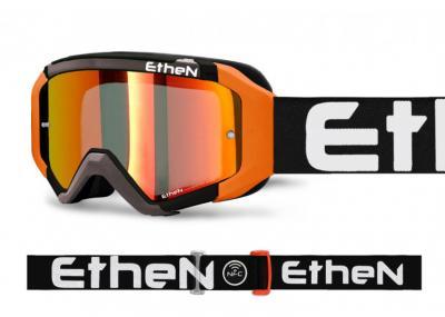 ETHEN MASCHERA 05R NERA/GRIGIA/ARANCIO