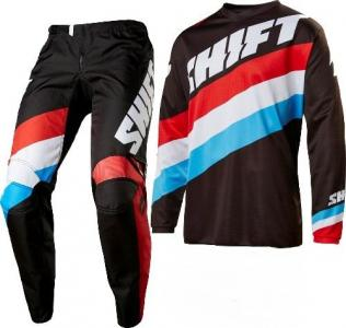 SHIFT COMPLETO MX WHIT3 TARMAC BLACK
