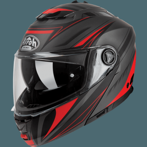 AIROH PHANTOM-S CASCO APRIBILE TRIPLO RED MATT