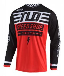 TROY LEE DESIGNS GP AIR JERSEY BOLT RED