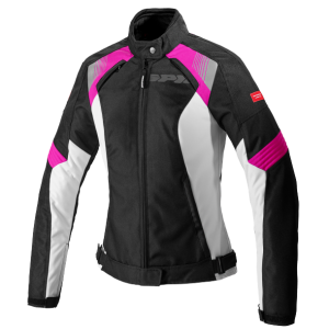 SPIDI GIACCA FLASH EVO LADY NERO/FUCSIA