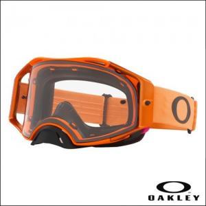 OAKLEY AIRBRAKE MX Moto Orange - Lens Clear