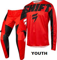 SHIFT YOUTH WHIT3 YORK RED
