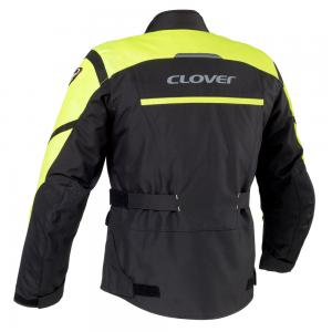 GIACCA CLOVER STORM-2 WP NERO/GIALLA