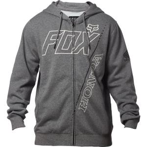 FOX HONDA FELPA CON ZIP E CAPPUCCIO FLEECE HTR GRAPH