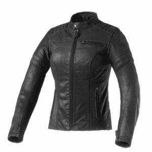 GIACCA PELLE CLOVER BULLET-PRO LADY NERO