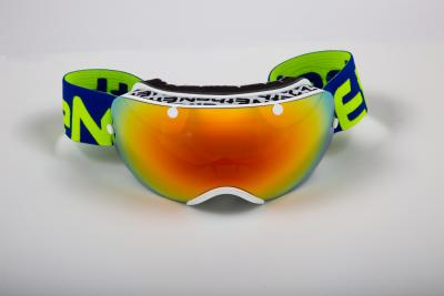 MASCHERA SCI ETHEN 03 WHITE/BLUE/YELLOW FLUO