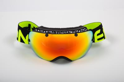 MASCHERE SCI ETHEN 03 BLACK/YELLOW FLUO