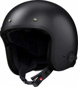 SENA SAVAGE CASCO JET INCORPORATO DI BLUETOOT 4.1 MATT BLACK