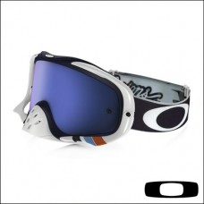 OAKLEY CROWBAR TLD Corse White - Lente Black Ice Iridium