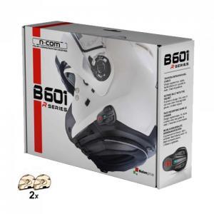 INTERFONO NOLAN N-COM B601R TWIN PACK (CONFEZIONE DOPPIA)