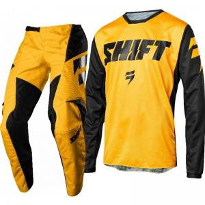 SHIFT  WHIT3 YELLOW COMPLETO CROSS MX 2018