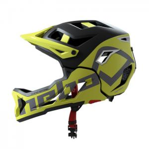 HEBO BIKI CASCO GENESIS INTEGRALE CON MENTONIERA SMONTABILE PER ENDURO/ALL MOUNTAIN
