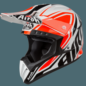AIROH CASCO CROSS SWITCH IMPACT ORANGE