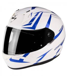 SCORPION EXO-390 HAWK WHITE BLU