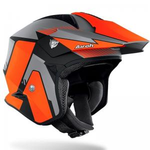 AIROH CASCO TRIAL TRR S PURE ORANGE MATT