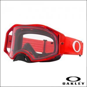 OAKLEY AIRBRAKE MX Moto Red - Lens Clear