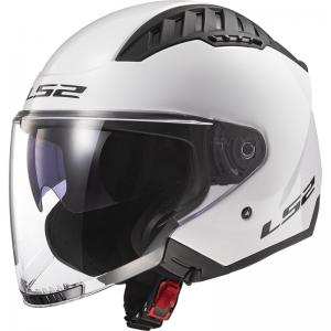LS2 CASCO JET COPTER SOLID OF600 WHITE