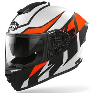 AIROH CASCO INTEGRALE ST.501 FROST MATT ORANGE