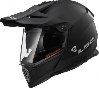 LS2 MX436 CASCO PIONEER SOLID BLACK MATT